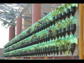 Pet Bottle Vertical Garden The Green Wall Educational Vertical Garden Bottle System