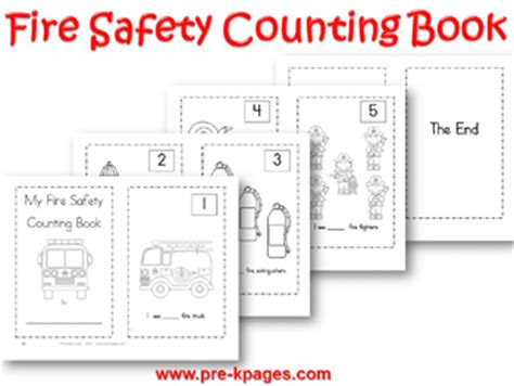 Go Go Counting Book 1 safety theme for preschool