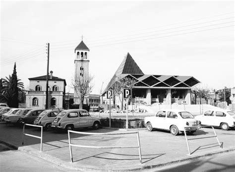 fotos antiguas viladecans iglesia del prat de llobregat al lado estacion