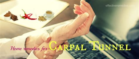 37 home remedies for carpal tunnel in wrist