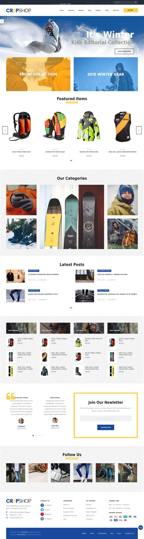magento bootstrap themes free top 15 magento 2 2 bootstrap themes boosting your