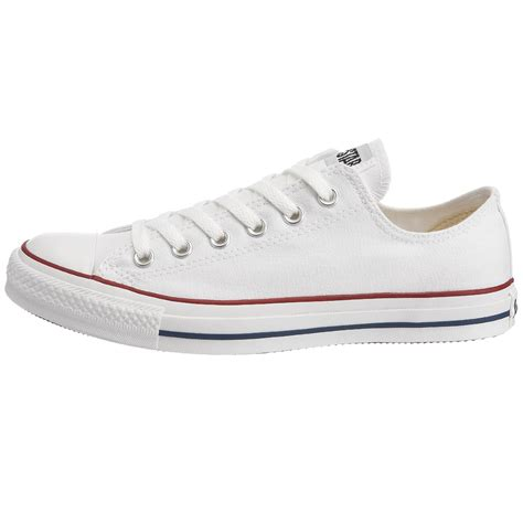 white converse shoes converse all chuck ox white unisex trainers