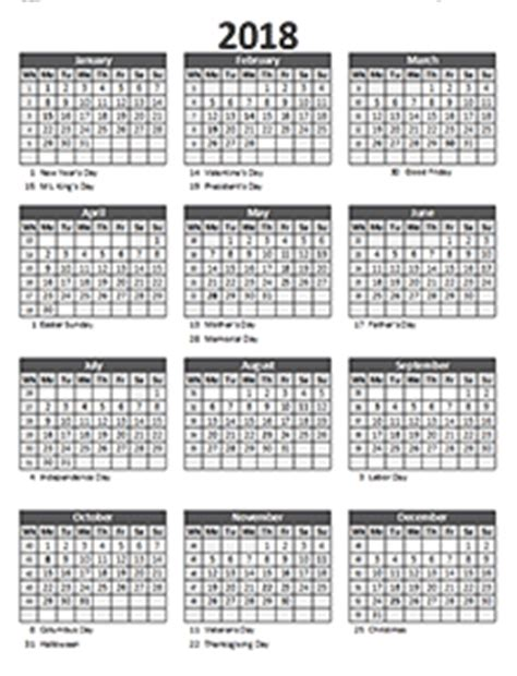 Romania Calendrier 2018 2018 Business Calendar Templates Free Business