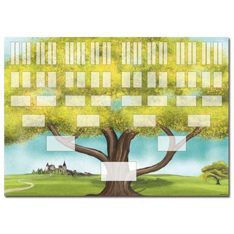 modele arbre genealogique gratuit 10 niveaux arbre g 233 n 233 alogique ascendant 6 g 233 n 233 rations pointilliste