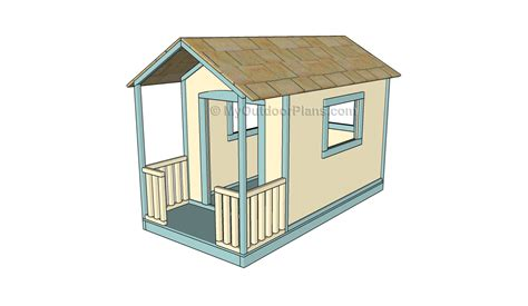 free play house plans play house plans ana white craftsman style playhouse diy projects ludwig playhouse