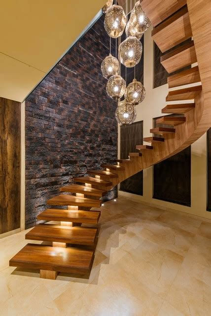awesome Small Bathroom Wall Decor #4: contemporary-staircase.jpg