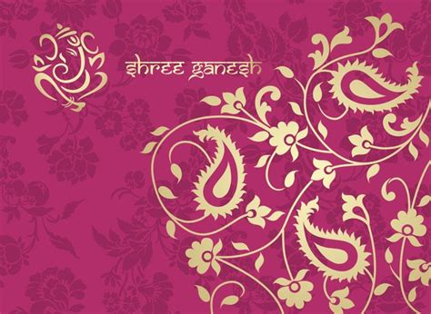 pink ethnic wallpaper indian ethnic pattern with pink backgrounds vector 05