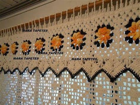 top  crochet lindas cortinas tejidas  mano  ganchillo youtube