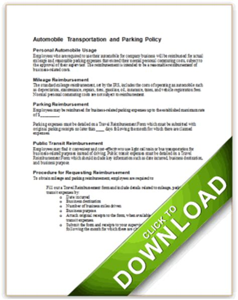 Travel Lodging And Entertainment Policies Travel And Entertainment Policy Template