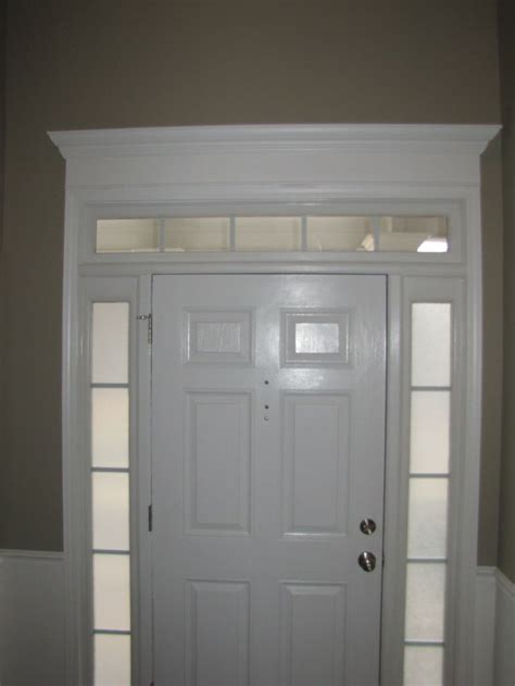 Front Door Crown Molding Front Door Crown Molding Let S Sell This Place