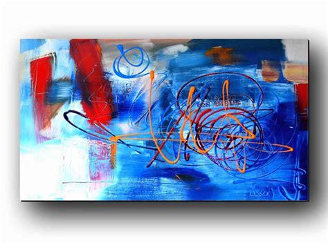 tableau contemporain abstrait peinture moderne d 233 coration