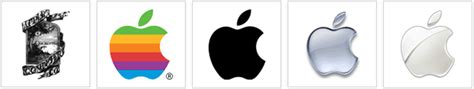 apple logo history apple logo history