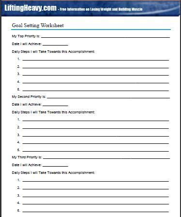 goal planning worksheet best 25 goal setting worksheet ideas on goals