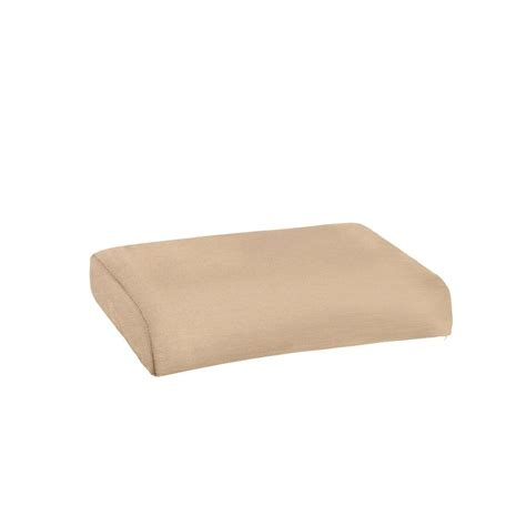 ottoman outdoor cushions martha stewart living charlottetown green bean replacement