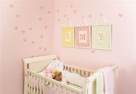 Nursery Decorating Tips Decoration Baby Nursery Room Decorating Ideas White Crib Pink Wall Paint Baby Room