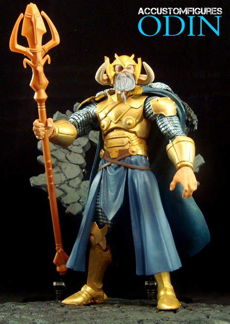 Marvel Legends Baf Odin odin baf marvel legends custom figure by accustomfiguresaccf on deviantart