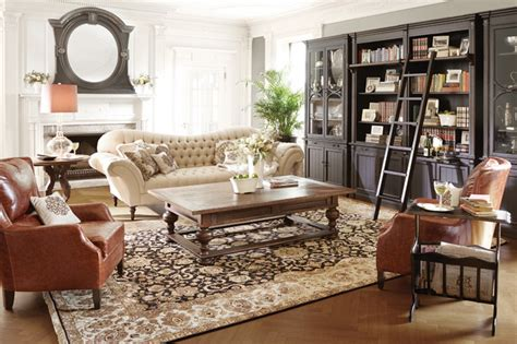 living room furniture living room sets arhaus club collection traditional living room by arhaus