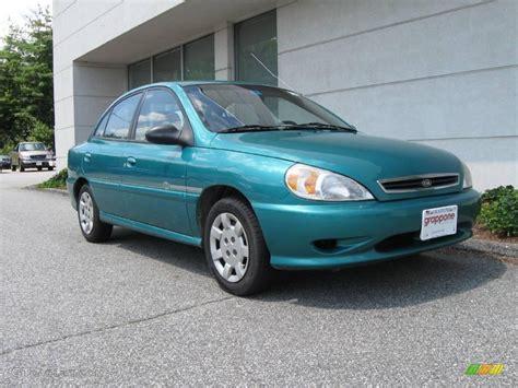 Green Kia 2002 Emerald Green Kia Sedan 15519689 Gtcarlot