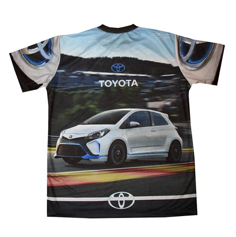 Big Size Xxxlpolo Shirt Toyota toyota yaris t shirt with logo and all printed