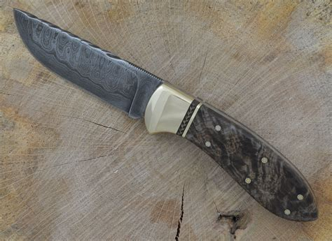 Handmade Skinning Knives - handmade custom and skinning knife by m g
