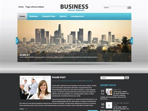 wordpress themes free download for software company business free wordpress business theme