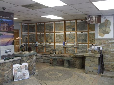 Unilock Showroom Our Indoor Showroom Alows You To Walk On Our Pavers And
