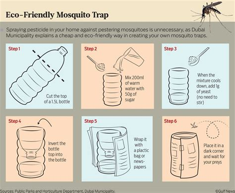 mosquito trap diy yeast make your own eco friendly mosquito trap in 6 simple steps