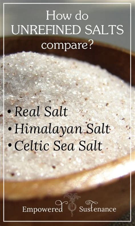 Are Salt L Benefits Real by 17 Best Images About Salt Refined Vs Unrefined On
