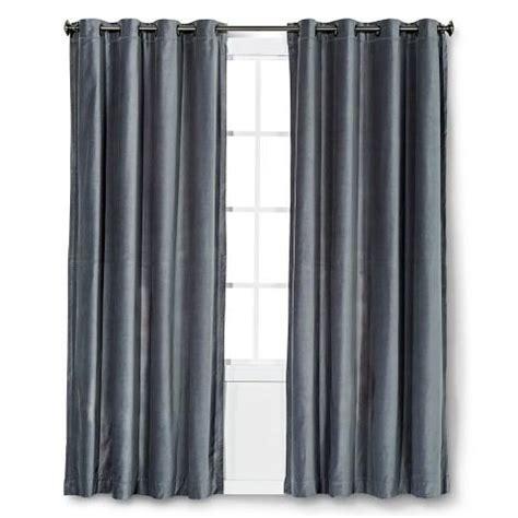 Gray Velvet Curtains Threshold Paisley Curtain Panel In Yellow
