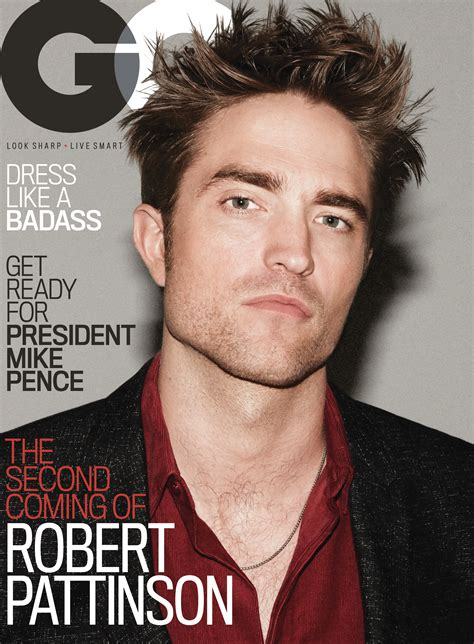 Gq R Your Afternoon R Pattz On Gq And In A Hilarious