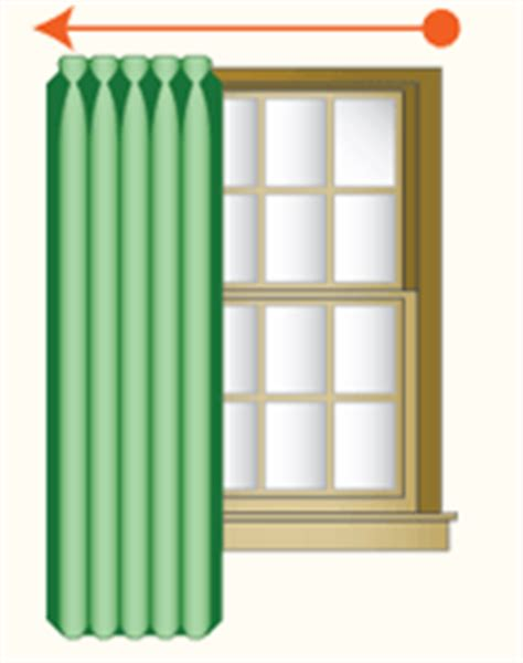 One Way Draw Draperies kirsch drapery hardware that open and drapes are called traverse rods