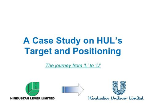 Hul Template Unilever Ppt Template Free