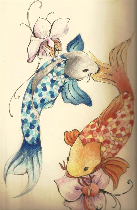 small koi tattoo designs pisces koi tattoos www imgkid the image kid has it