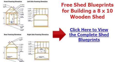 How To Build A 10 X 12 Shed by 10x12 Shed Plans Proper Steps To Build A Storage Shed