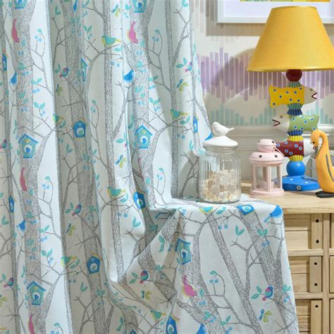 blue bird curtains high end curtains window drapes custom curtains sale