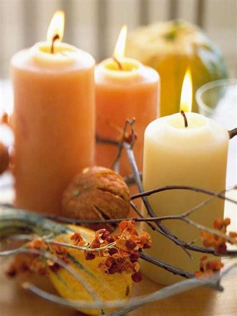 easy centerpieces for thanksgiving table 21 candles centerpiece ideas for thanksgiving decorating