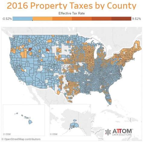 Union County Property Tax Records Here Are The States With The Highest Property Taxes Zero Hedge