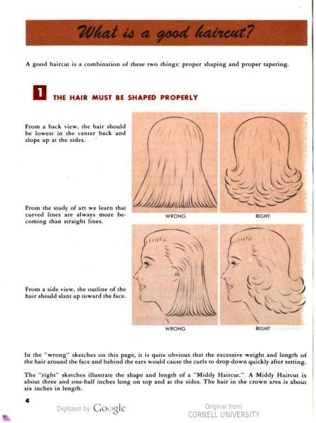 diagrams on how to cut new hairstyles what is a good haircut vintage hair howtos pinterest
