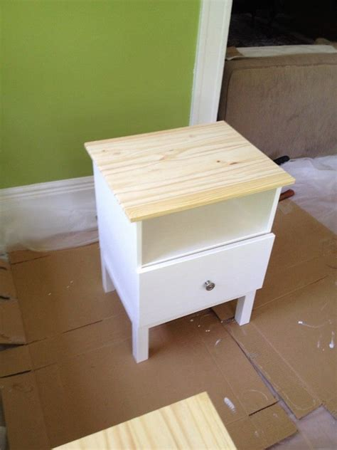 Tarva Nightstand Hack Before Nightstand House Stuff Pinterest Nightstands