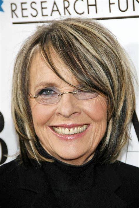 Diane Keaton Hairstyle by Diane Keaton Hairstyles Front Side And Back