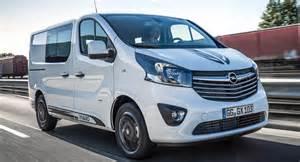 Opel Vivaro Opel Vivaro Sport Gives Big A More Aggressive Look