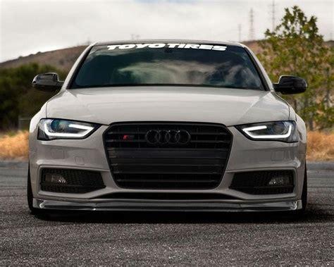 Audi S5 B8 by 10 B8c 002 Enlaes Carbon Fiber Front Lip Spoiler Audi S5