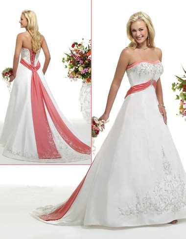 beach wedding dresses coral 11 best images about a splash of color on pinterest