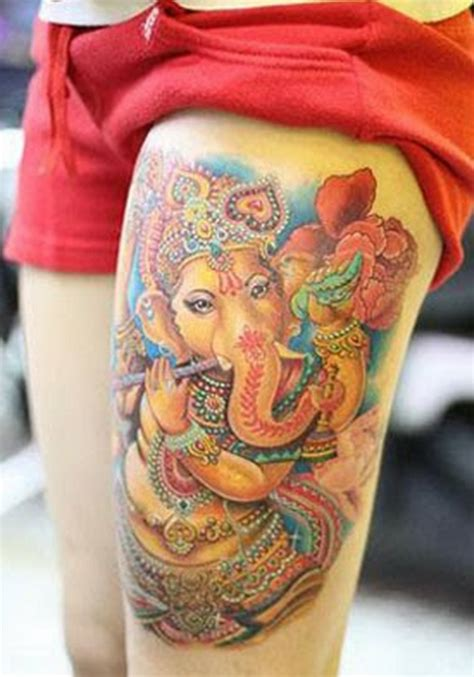 ganesha tattoo designs pictures hinduism tattoos designs pictures page 13