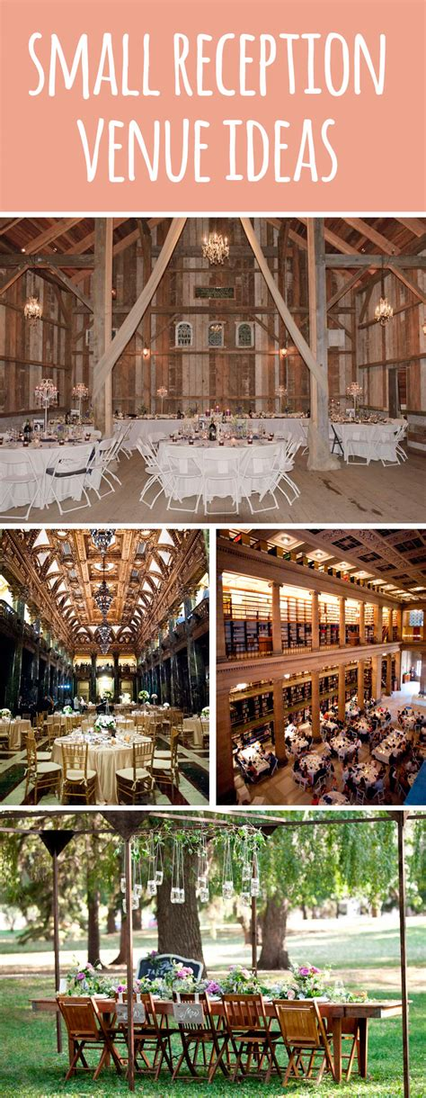 small wedding venues how to a small wedding
