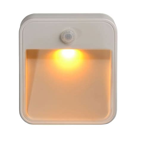 mr beams led night light mr beams amber led stick anywhere 20 lumen light mb720a