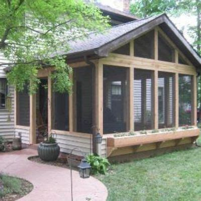 House Plans With Screened Back Porch by 25 Best Ideas About Screened Back Porches On Pinterest