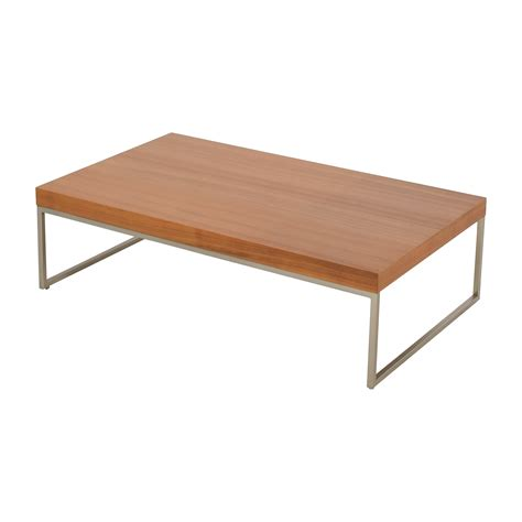 boconcept coffee table 82 off boconcept boconcept lugomatte oak veneer coffee