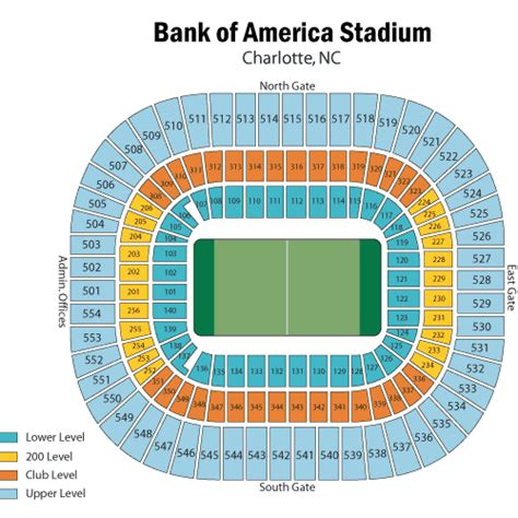 bank of america stadium seating chart carolina panthers vs washington redskins october 23