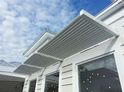 aluminium louvre awnings exclusive louvres in geelong vic shades blinds truelocal